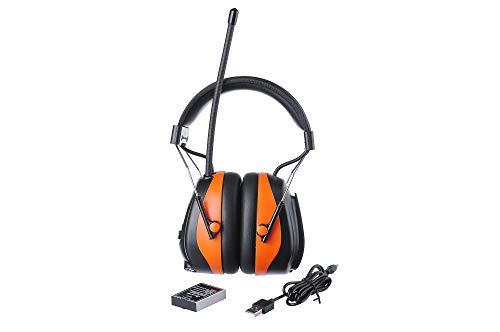 PROTEAR DAB+ Digital Ohrenschützer Kapsel mit Bluetooth Radio FM AM – Aktiv Kopfhörer Headset für Werkstatt.Mähen, Sägen, Bauwesen, Traktorfahren