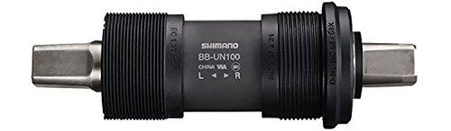 SHIMANO BB-UN100 Vierkant BSA, schwarz, One Size