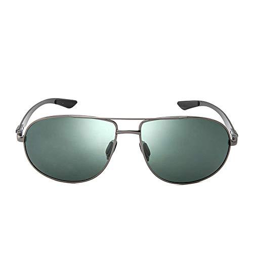 QCSMegy Gafas de Sol Memoria De Confort Gafas De Sol De Fibra De Carbono Gafas De Sol Claras Y Coloridas Recubrimiento Colorido Gafas Moda Retro Transpirable Ligero