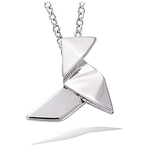 Les Trésors De Lily [P1218] - Colgante plata 'Origami' plateado (rodio)cazuela tradicional.