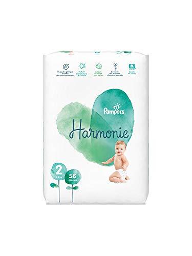 Pampers Harmony Tamaño 2 56 Capas 4-8 Kg