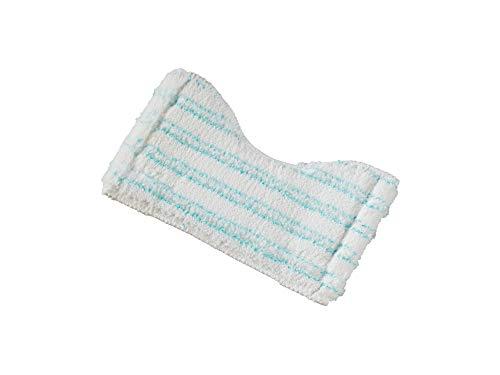 Leifheit Ersatzbezug Bath Cleaner für den Fliesen- und Wannenwischer Bath Cleaner, Wischbezug aus Mikrofaser mit Spezialborsten, extrem saugfähiger Wischer