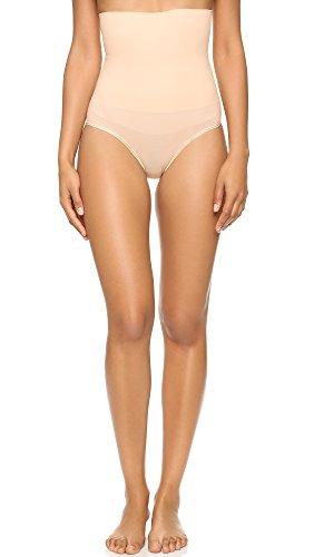 Yummie Women's Plus Size Cameo Seamless High Waist Shapewear Brief, Naked, 1X/2X