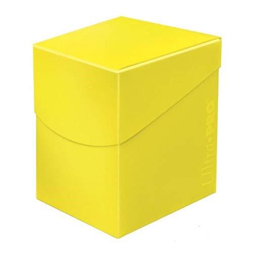 Ultra Pro 85690 Deck Box, citroengeel
