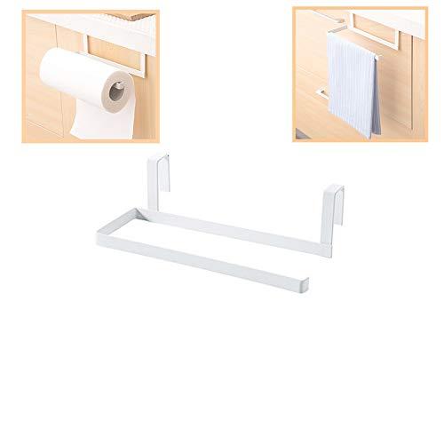 Creative Cabinet - Soporte para Papel de Cocina, de plástico, para Papel higiénico, Blanco