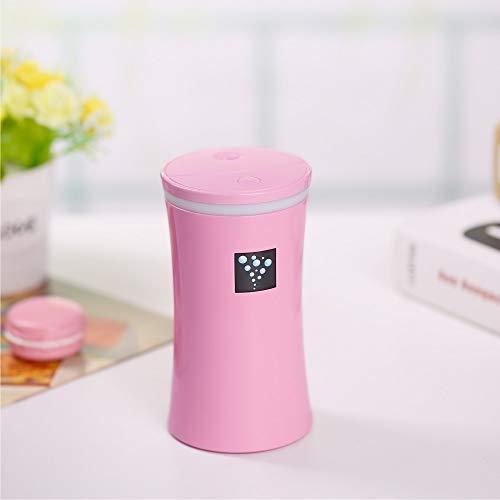 Aromatherapie Negatieve Ion Water Meter Water Cup Luchtbevochtiger Huishoudelijke Mini USB Aromatherapie Machine roze