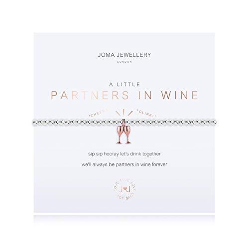 Joma Jewellery a Little Partners in Wine Bracelet