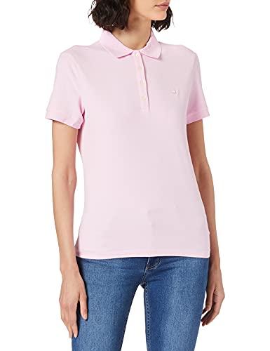 United Colors of Benetton Damen Polo Poloshirt, Pink (Lilac Sachet 14p), Medium