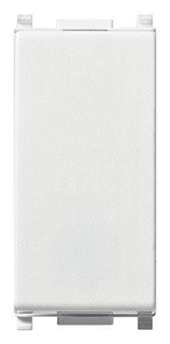 Vimar 0R14004 Plana Deviatore Elettrico illuminabile 1P 10AX Bianco