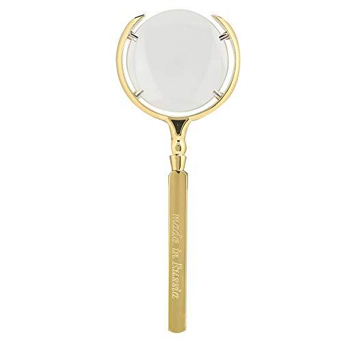 𝐑𝐞𝐠𝐚𝐥𝐨 𝐝𝐞 𝐍𝐚𝒗𝐢𝐝𝐚𝐝 Materiales de alta calidad Lupa de reparación de relojes, Lupa segura y duradera, Tamaño pequeño El hombre para el hogar Mujer Anciana(Golden)