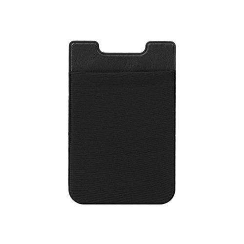 Deendeng Aufkleber Handyrückseite Karten Brieftasche Kreditkarte Ausweishalter Tasche