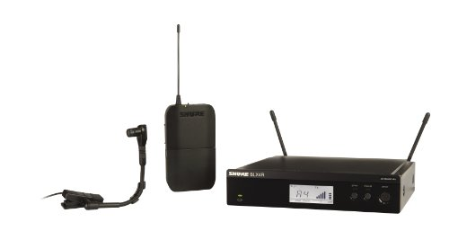 Shure BLX14R/B98 Rack Mount Wireless Microphone System with BETA98H/C Clip-on Gooseneck Instrument Mic (Discontinued by Manufacturer)