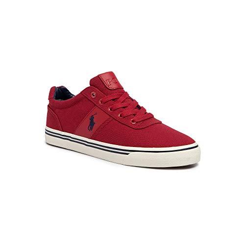 Ralph Lauren - Zapatillas para Hombre, Color Rojo