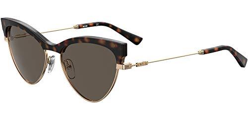 Moschino Gafas de Sol MOS068/S DARK HAVANA/DARK GREY 55/17/140 mujer