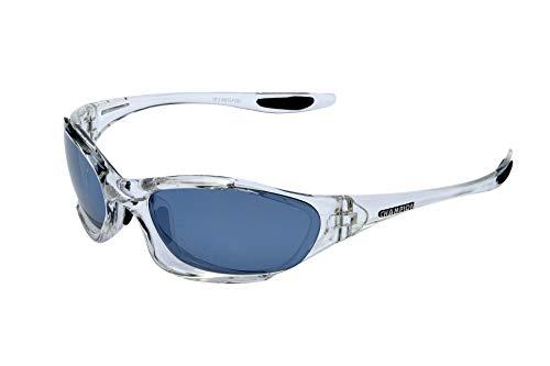 SPORTBRILLE Radbrille von CHAMPION - EXTREM SILVER FLASH MIRROR -