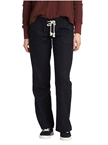 Roxy Women's Oceanside Pant, True Black X-Large