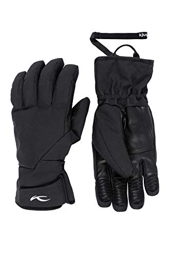 KJUS Men Formula Gloves Schwarz, Herren Fingerhandschuh, Größe 10 - Farbe Black