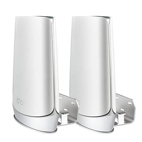 Orbi WiFi 6 Soporte de Pared, Robusto Soporte de Metal Compatible con el Sistema Orbi Mesh WiFi 6 RBK853 RBK852 RBS753 RBK752 RBS750 RBS750 RBK852 (2pcs)
