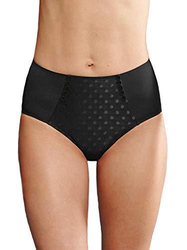 Anita 1350 Airita Donna Mutande Slip Vita Alta Nero 52 (Brand Size 42)