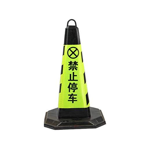 AJZXHE Warnkegel Warnkegel, Sicherheitskegel, Verkehrssicherheit Cone Verkehrsleitschilder 4 (H-50 cm) Sicherheitsschranken (Color : B)