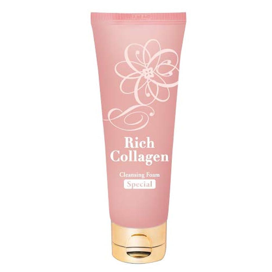 塗抹かもしれない期限リッチ生 コラーゲン もっちり 洗顔フォーム 100g