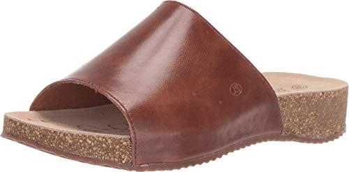 Josef Seibel Women's Tonga 51 Slide Sandal, Camel, 38 Medium EU (7-7.5 US)