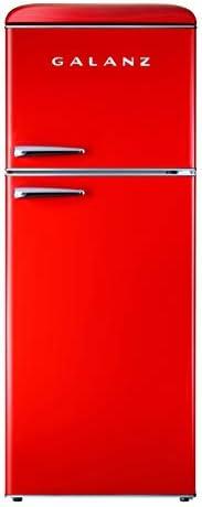 Galanz GLR10TRDEFR Retro Refrigerator 10 0 Cu Ft Red product image