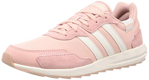 Adidas RETRORUN, Zapatillas Running Mujer, Rosa (Pink Spirit/Cloud White/Pink Spirit), 36 2/3 EU