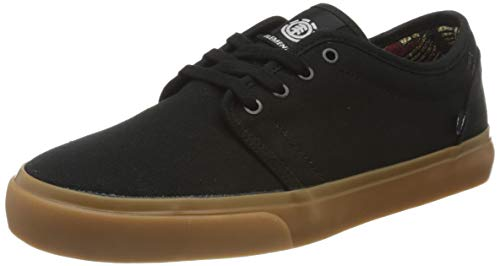 Element Men's Low-Top Trainers, Black Black Gum 4298, 8 UK
