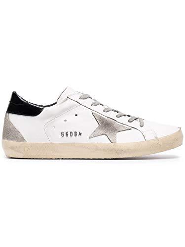 Golden Goose Luxury Fashion Damen GCOWS590W55 Weiss Leder Sneakers | Jahreszeit Permanent