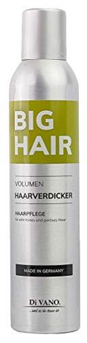 Haarverdicker für mehr Haarvolumen und Fülle | gegen feines dünnes kraftloses Haar | Big Hair