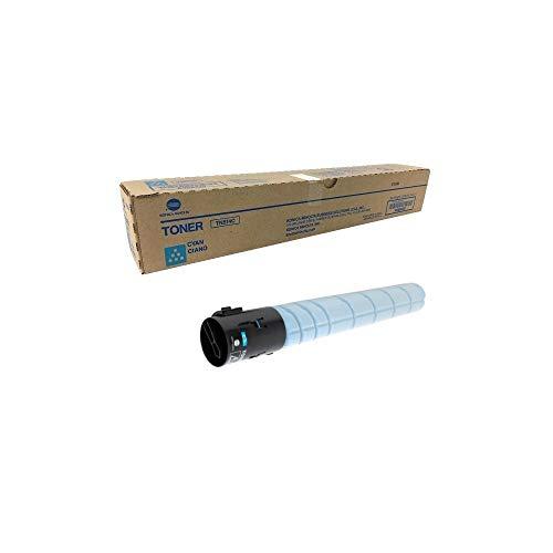 Konica Minolta TN514C A9E8430 Bizhub C458 C558 C658 Toner Cartridge (Cyan) in Retail Packaging