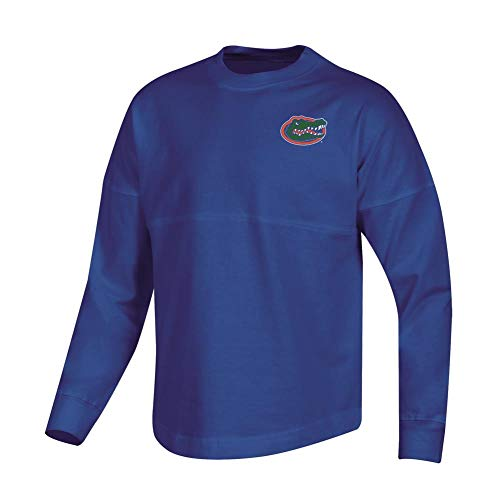 Champion Girls University of Florida Gators Oversized Spirit Fan Jersey Shirt (Small)