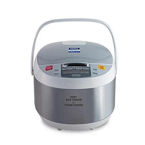 KENT - 16012 860-Watt Rice And Steam Cooker