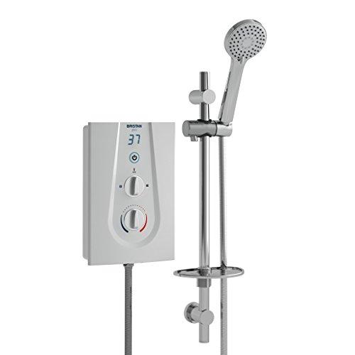Bristan GLE385 W 8.5 kW Glee 3 Electric Shower - White