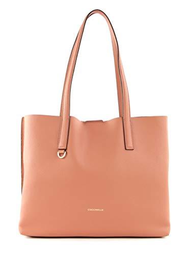 Coccinelle Matinee Large Shoulder Bag Litchi/Rose