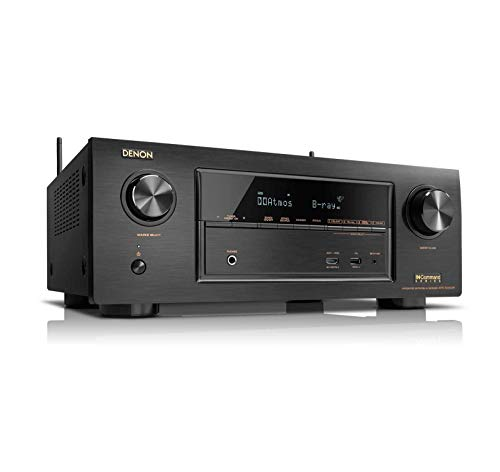 Denon AVR-X6500H 11.2CH 4K Ultra HD AV Receiver Cutting Edge Home Theater System with HEOS,3D Audio and Amazon Alexa Voice Control