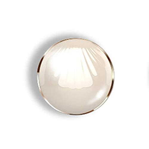 Miroirs de poche Lampe de Maquillage Miroir-LED Maquillage Portable Portable créatif trésor Miroir Pliant Miroir Miroir de Poche Mini HD Princesse Shell Miroir de Maquillage