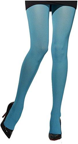 Collants Opaques Bleus