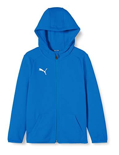 Puma LIGA dziecięce buty sportowe niebieski Electric Blue Lemonade-Puma White 164