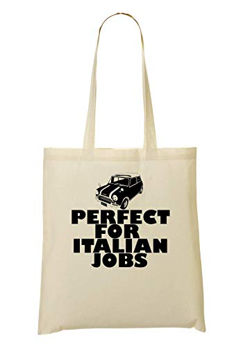 RaMedia Original Mini Cooper Perfect For Italian Jobs Tragetasche Einkaufstasche