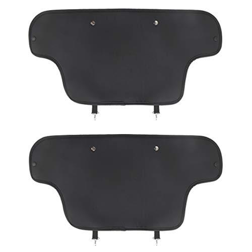 Cobeky Car Protector Mat Car Back Kick Covers para el Modelo 3 Accesorios Interior