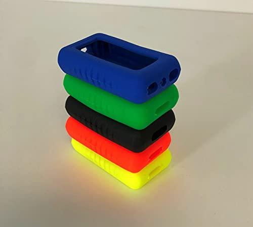 Salvatelecomando universale ELASTICO per apricancelli modello Micro tecnidea. Dimensioni da un minimo ad un massimo: Larghezza da cm 2,8 a cm 5 - lunghezza da cm 5,5 a cm 12 - confezione da 2 pezzi in colori assortiti