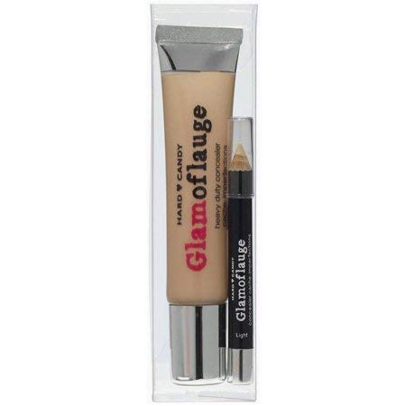 Hard Candy Glamoflauge Heavy Duty Concealer with Pencil, 1221 Honey