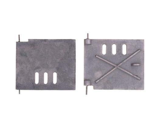 QLS Ofentür Backofentür Kachelofentür Gusseisen Schürtür Revisionstür 18 x 15 cm