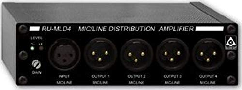 Check Out This RU-MLD4 - 1x4 Mic/Line Distribution Amplifier