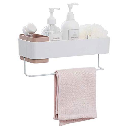 Diaod Toallero - Baño Colgante de Pared de la Caja de almacenaje No Trace Baño Gratuito de perforación de Toallas en Rack