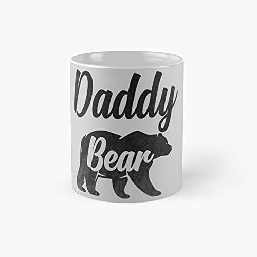 Daddy B.ea.r Classic Mug - 11 Ounce For Coffee, Tea, Chocolate Or Latte.