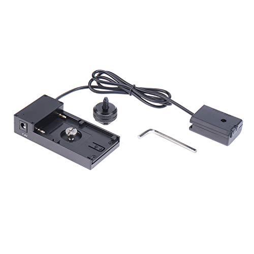 Fotga NP-FW50 Dummy-Batterie zu NP-F NP-F970 F960 F750 F770 F550 Adapter Heisser Schuh Montieren Teller 1/4