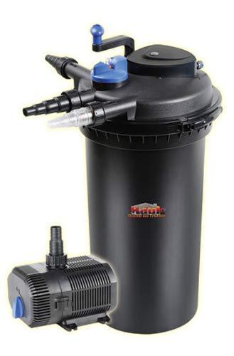 Mauk UV-C Teichdruckfilter Set - UVC Lampe:18 W, bis 30.000L Teich,Reinigungsfunktion